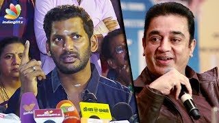 Kamal has the right to voice out his opinion ; I will stand by him : Vishal Speech | Latest News