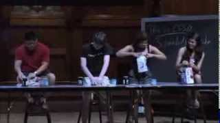 Harvard Students Making Sandwich: CS 50 Algorithm Intro