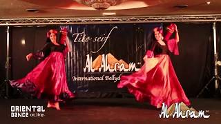 Nahid Danza en Al-Ahram festival by Tito Seif