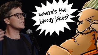 Award winning Australian comedy show is .. not funny