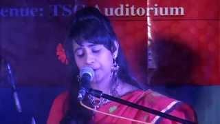 IIT, DU student performing Bangla Song