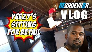 Yeezy's sitting for retail at Undefeated - Reshoevn8r Vlog