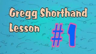 Gregg Shorthand Letters #1