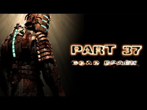 Dead Space Playthrough Part 37 Ch 8 Search and Rescue AOS Cannon To Clear Blast Doors