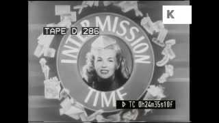 1940s cinema ad, intermission time!
