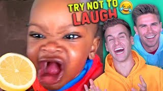 Try Not To LAUGH Challenge! (Don't Look Away Edition)