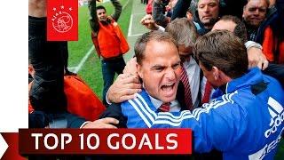 TOP 10 GOALS - Onder Frank de Boer