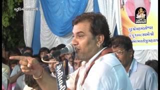 Kirtidan Gadhvi Gujarati Dayro 2016 Moj Ashram Upleta Live Programme - 2