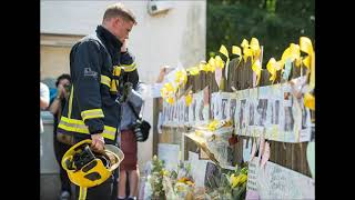Grenfell Tower- LFB Firefighter Tribute