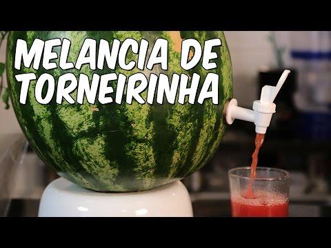 Como fazer melancia de torneirinha