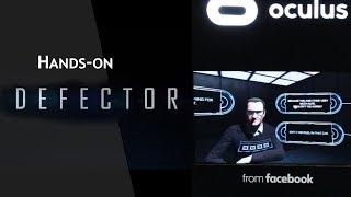 E3 2018:  Demoing Oculus