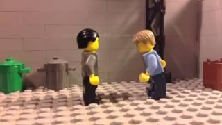 LEGO kicking test