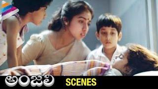 Baby Shamili Dies | Climax | Anjali Telugu Movie Emotional Scenes | Revathi | Tarun | Raghuvaran