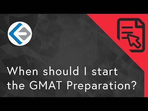When should I start the GMAT Preparation  (For Working Professional)