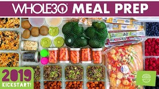 Whole30 Meal Prep For The Week #kickstart2019