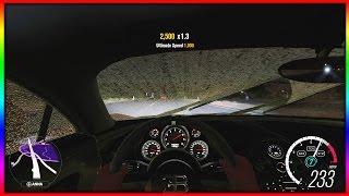 Forza Horizon 3 - KFC Bugatti Top Speed In Night Rain 4K