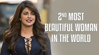 Priyanka Chopra BEATS Hollywood hotties, becomes the second most beautiful woman in the world