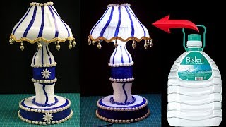 DIY - Lamp Made out of Recycled Plastic Bottles - Bright Idea to Recycle Plastic Bottles