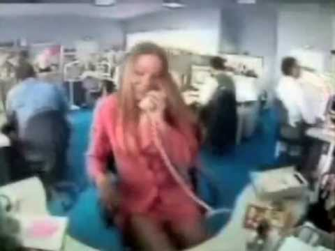 Crazy Office Guy Smashes Girl's Phone... Funny!