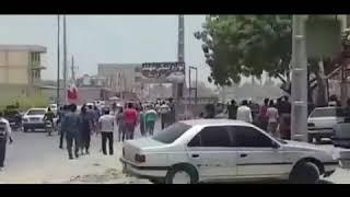 Iran, Les jeunes de minab se sont affrontés avec les forces répressives du reigme iranien