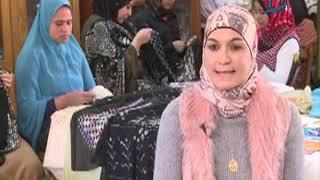 شاهد بالفيديو.. قصة نجاح مشروع لصناعة الملابس اليدوية المطرزة بخيوط الفضة بـ #سوهاج
