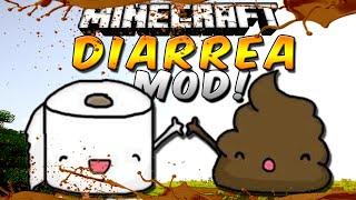 DIARREA MOD (Ensucia, mancha, trolea, mmmm!!!) - Minecraft Review