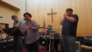 Agape Blues Company At The Capital City Rescue Mission - Concert Window Highlight