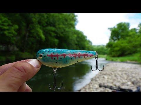 Xxx Mp4 AMAZING Creek Fishing Using Homemade Lures Live Crayfish 3gp Sex