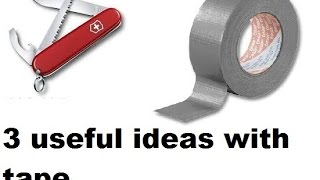 3 useful ideas with tape (98)