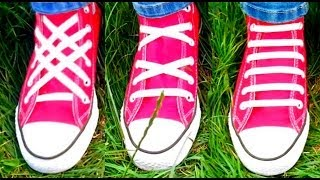 TOP 3 Ways To Lace Shoes - Video Tutorial of 3 Best Shoe Lacing Kinds