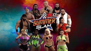 WWE 2K17 Summerslam 2017 Highlights