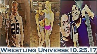 "WU 10.25.17: Bo Nickal reps the Blue and White; ""Iron Sharpens Iron""; Tony Ferguson gets his belt!!!"