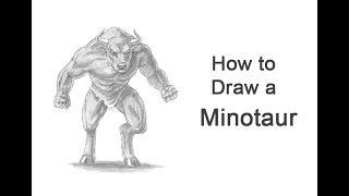 How to Draw a Minotaur