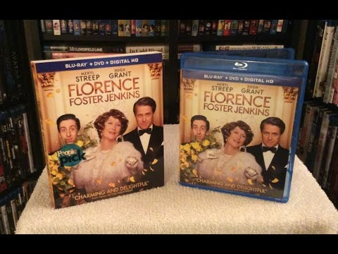 Florence Foster Jenkins BLU RAY UNBOXING and Review - Meryl Streep