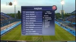 Finale Kupa: Lokomotiva - Hajduk 3:3 (SAŽETAK + PROSLAVA) 22.05.2013.