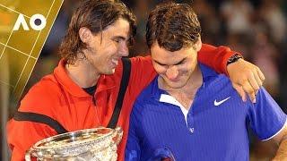 Repeating history: Nadal v Federer 2009 AO final | Australian Open 2017
