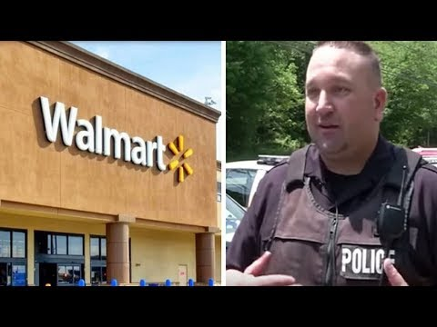 Xxx Mp4 This Father Having Trouble With Cashier At Walmart Glances Up And Sees Officer Running Towards Him 3gp Sex