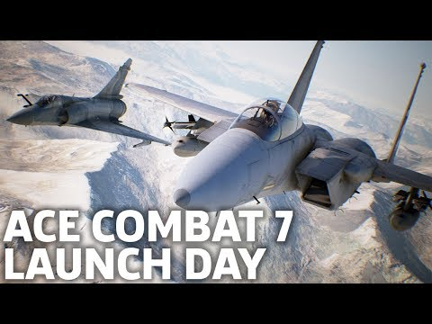 Ace Combat 7 Campaign And Multiplayer Gameplay Live