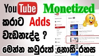 why google adsense ads not show | monetized problem fix|Sinhala