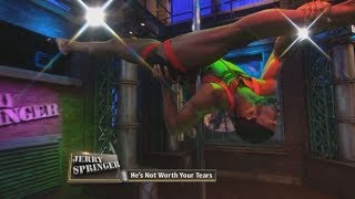 We've Never Seen Pole Dancing Like This! (The Jerry Springer Show)