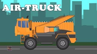 Transformer | Delivery truck |  Fork Lift | Air truck | Construction Vehicles For Kids