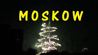 NEW YEARS 2015 FIREWORKS | MOSKOW
