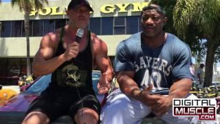 Dexter Jackson on Muscle Beach TV