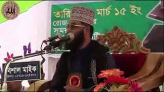 Hazrat Maulana Abdul Malik Islahee Bagla2015 Waz Mahfil 1 / 7 Disk part 2