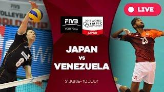 Japan v Venezuela - 2016 Men