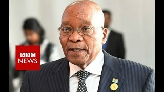 Jacob Zuma: Former South African president faces corruption trial - BBC News