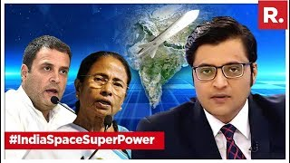 #IndiaSpaceSuperPower: Why's Oppn So Scared? | The Debate With Arnab Goswami