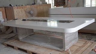 Corian Meeting table production