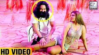 Gurmeet Ram Rahim DANCING With Rakhi Sawant VIDEO Goes VIral | LehrenTV