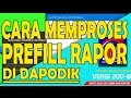 Download Video Download Cara download Prefill Rapor dan mengimputnya ke aplikasi Dapodik 3GP MP4 FLV